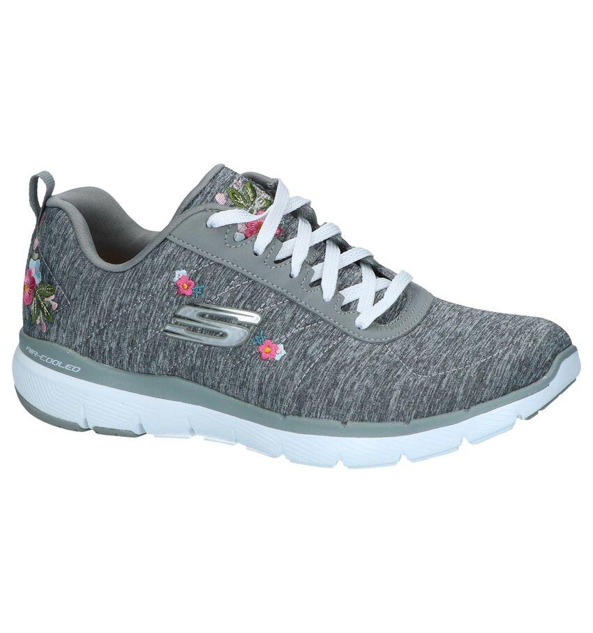 Grijze Sneakers Skechers Flex Appeal
