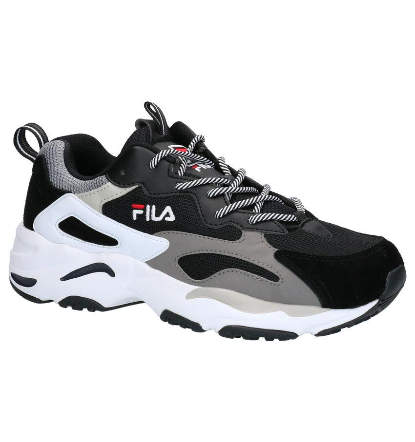 Fila Ray Tracer Zwarte Sneakers
