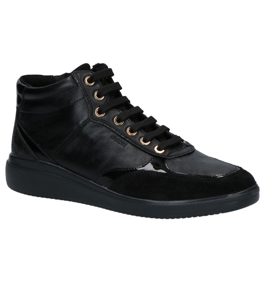 Geox Hoge Schoenen Zwart