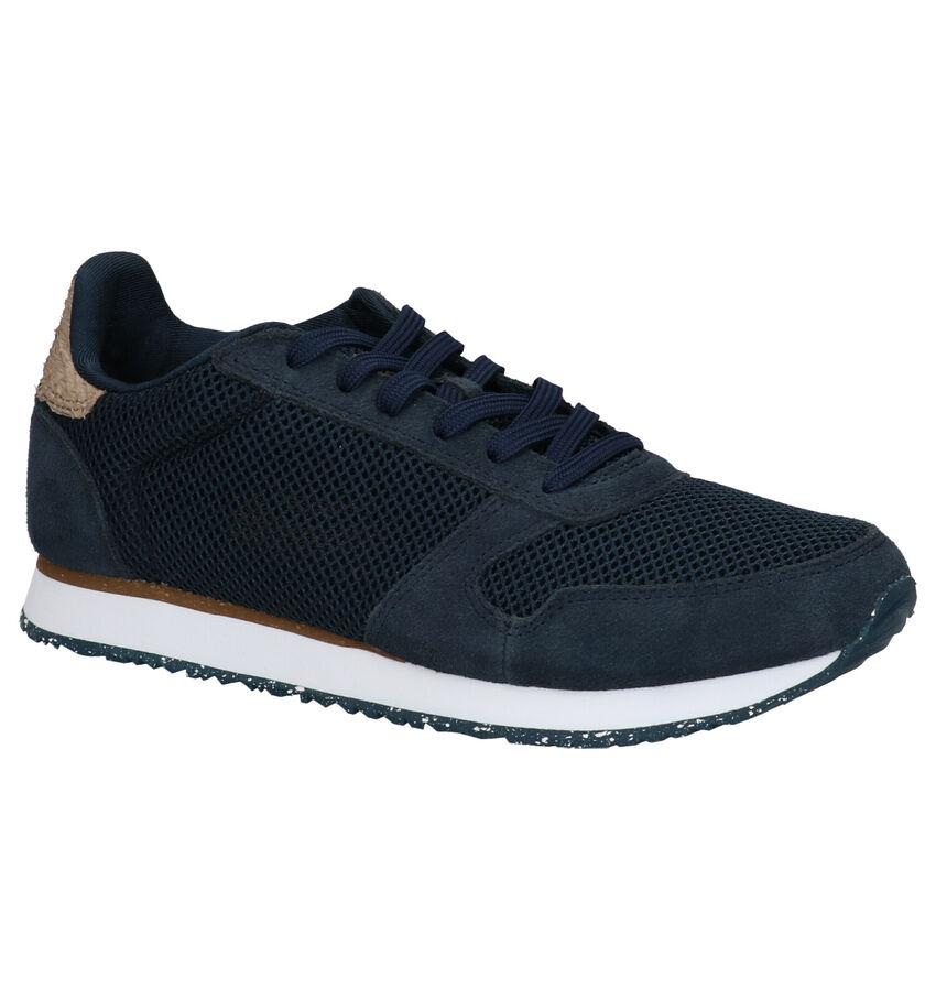 Woden Blauwe Sneakers