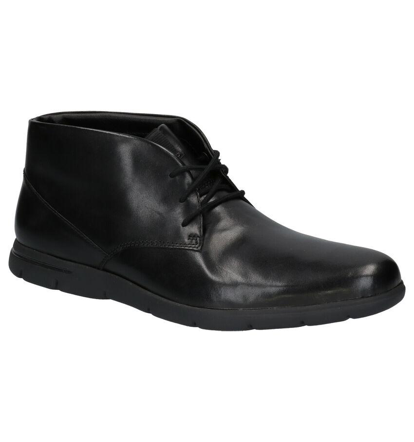 Clarks Vennor Zwarte Geklede Schoenen