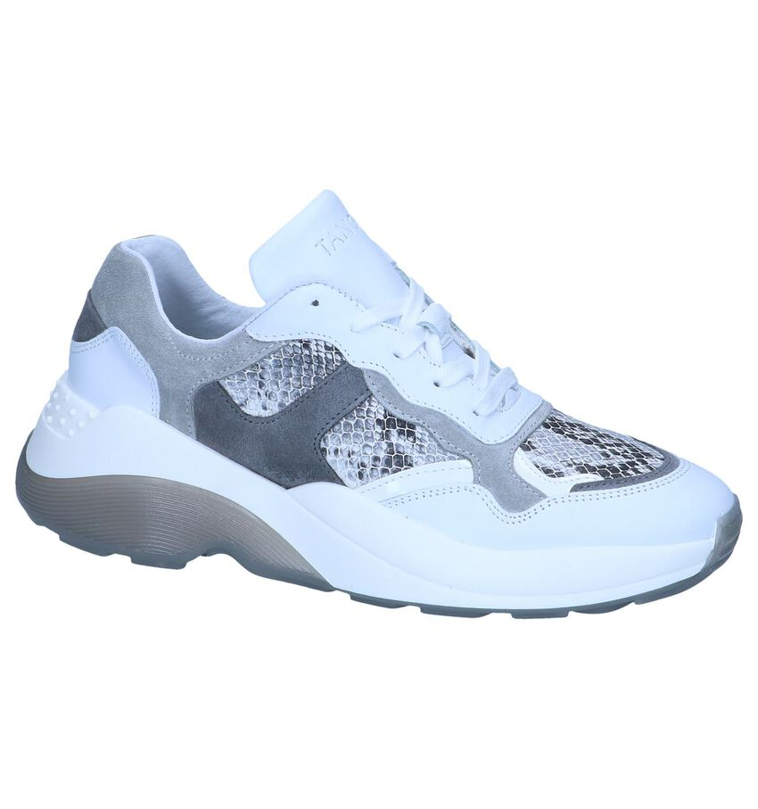 Witte Lage Sneakers Tango Sage 2