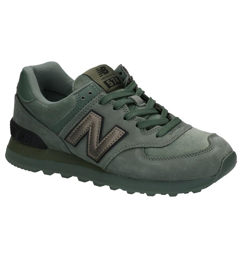 New Balance 574 Groene Sneakers