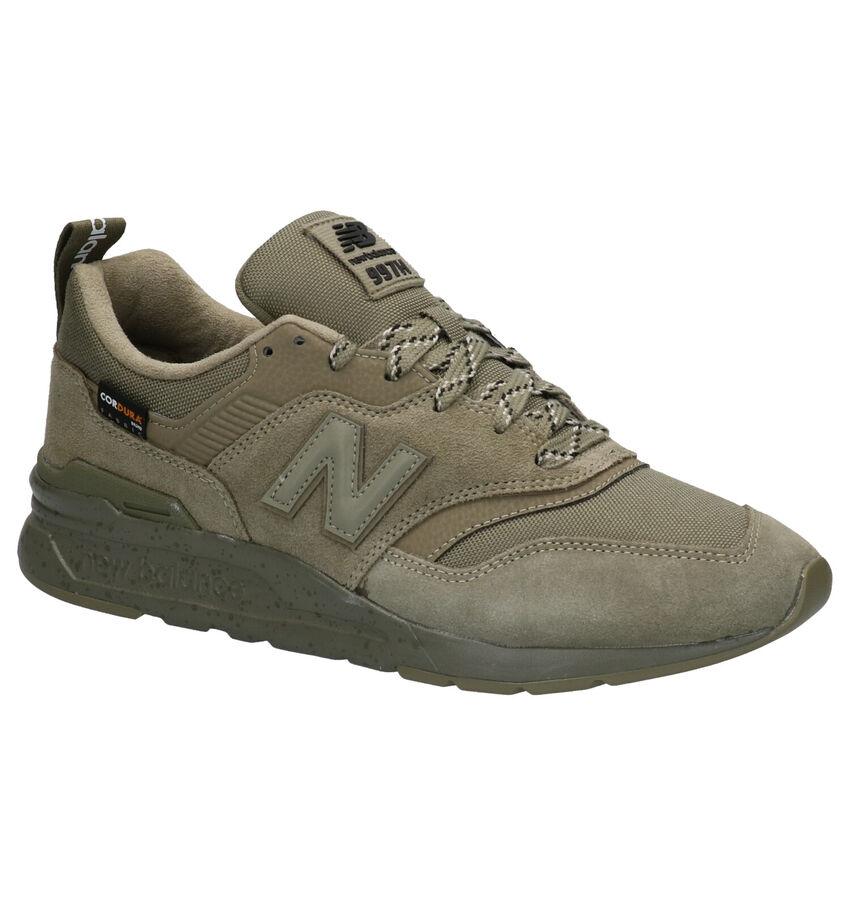 New Balance 997 Kaki Sneakers