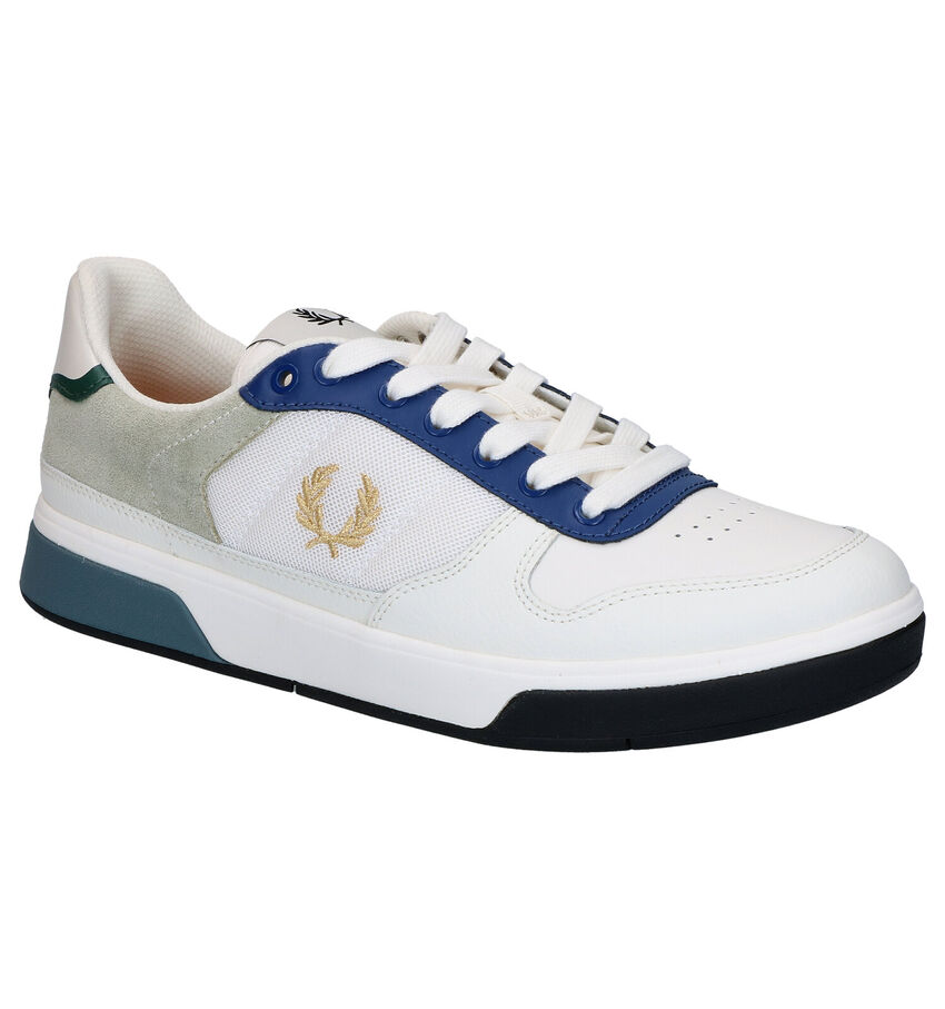 Fred Perry Ecru Sneakers