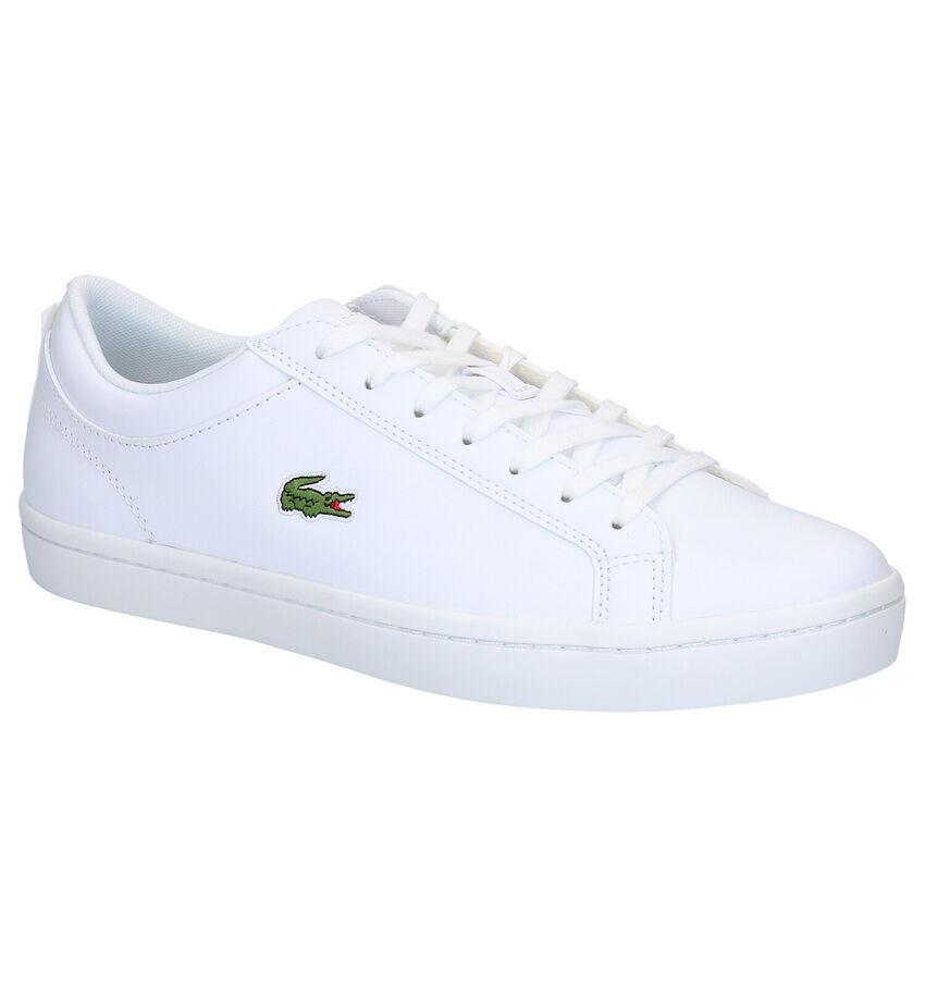 Lacoste Straightset Witte Sneakers