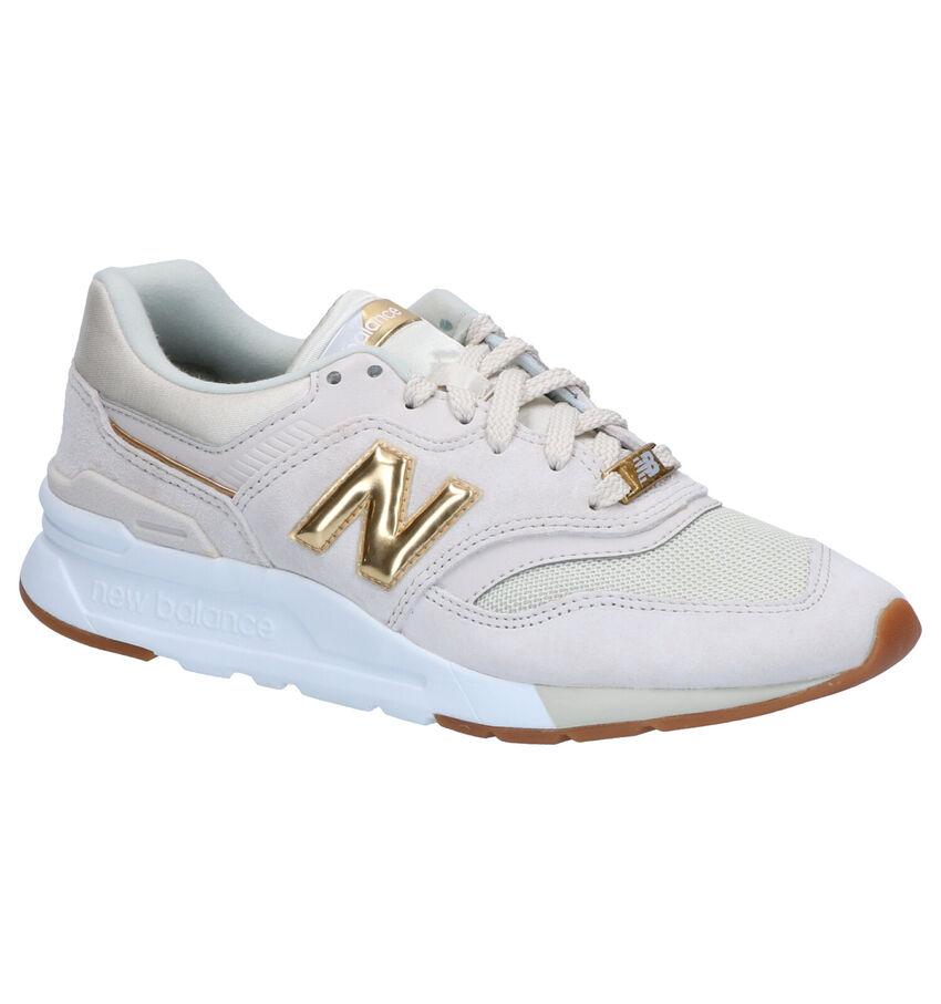 New Balance CW 997 Beige Sneakers