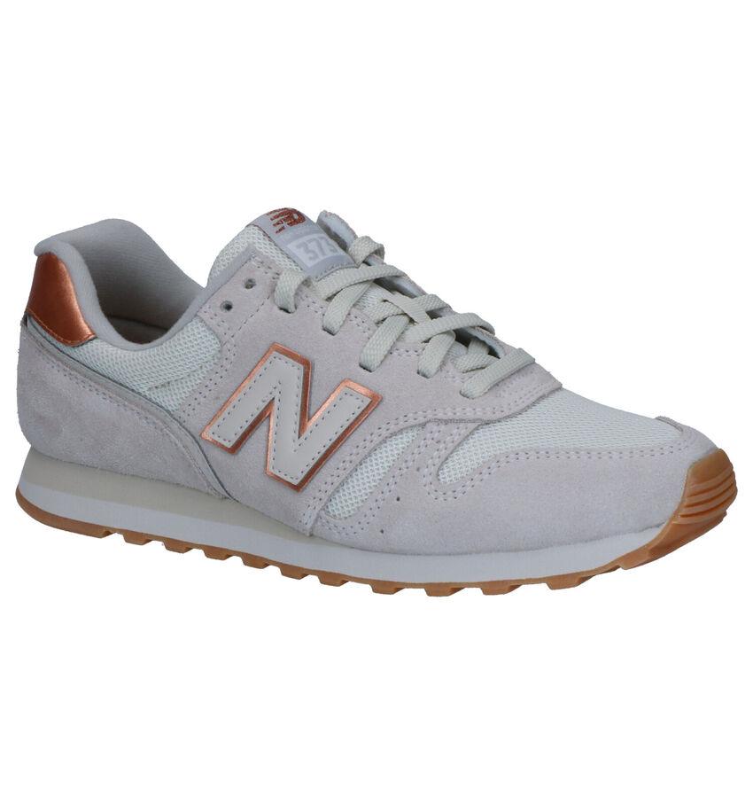 New Balance 373 Beige Sneakers