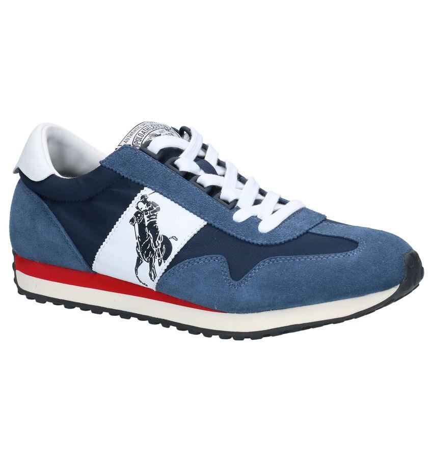 Polo Ralph Lauren Train 90 Veterschoenen Blauw