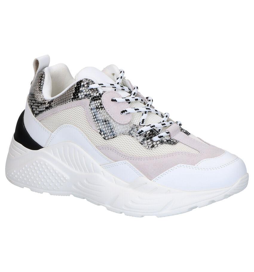 Witte Lage Sneakers Steve Madden Antonia