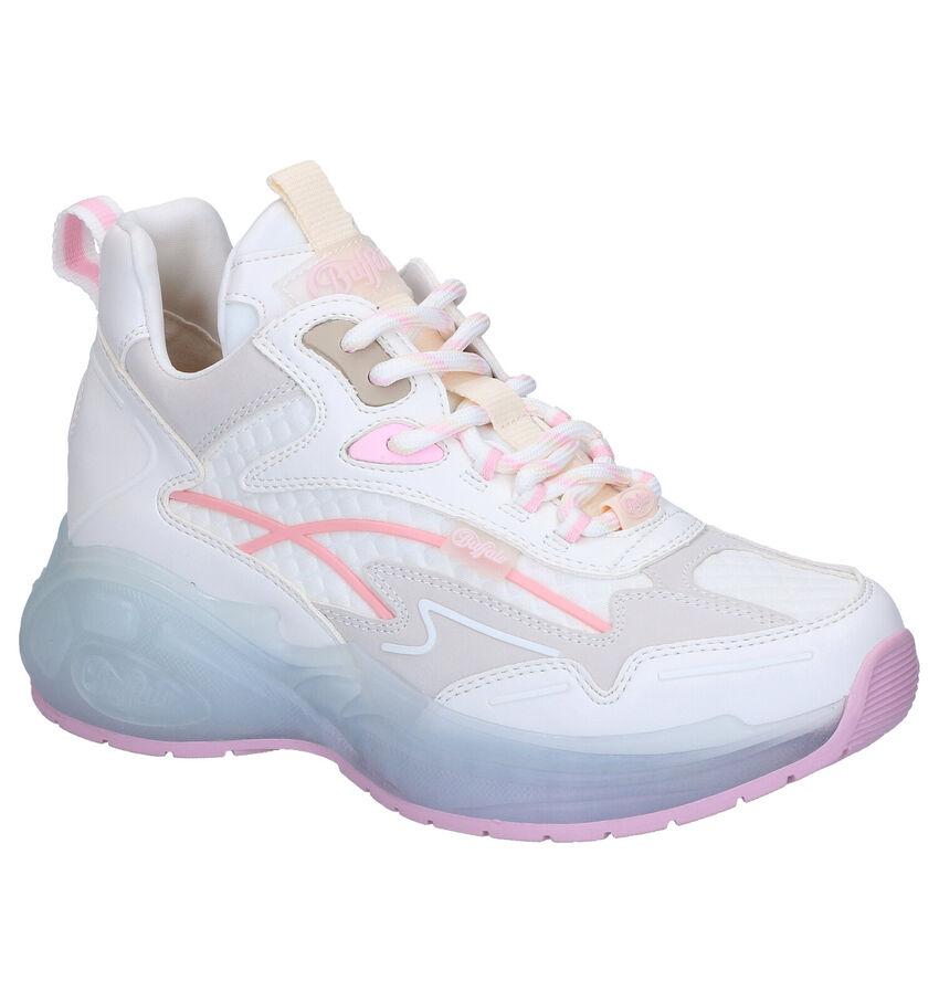 Witte Sneakers Buffalo Mellow