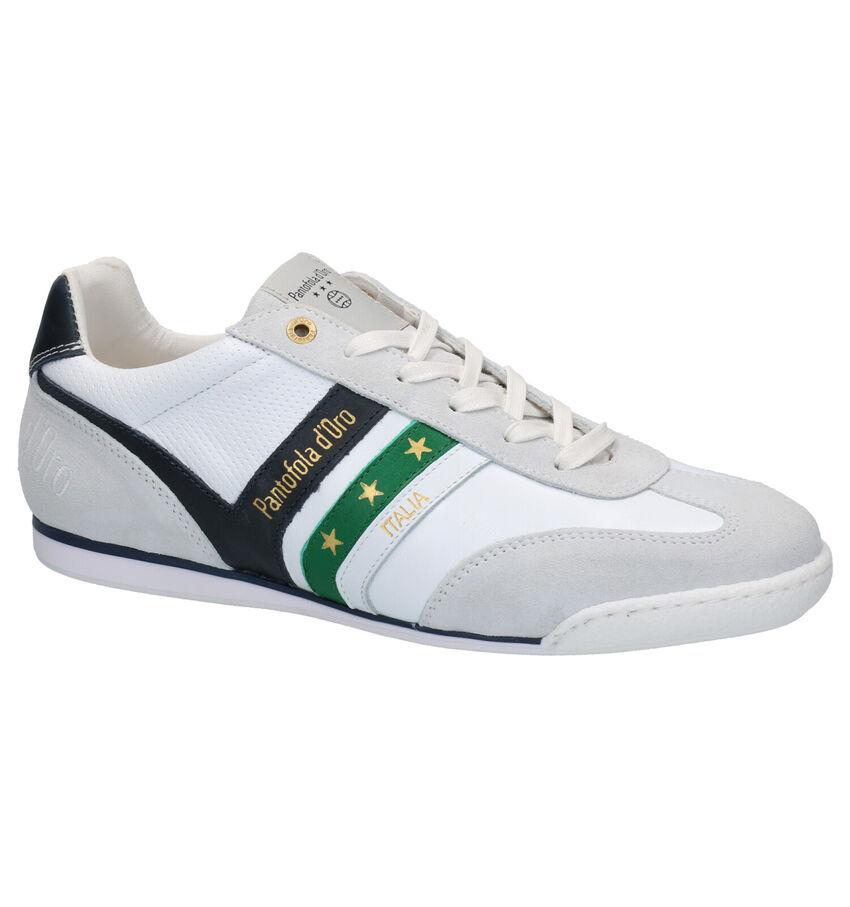 Pantofola d'Oro Vasto Low Witte Veterschoenen