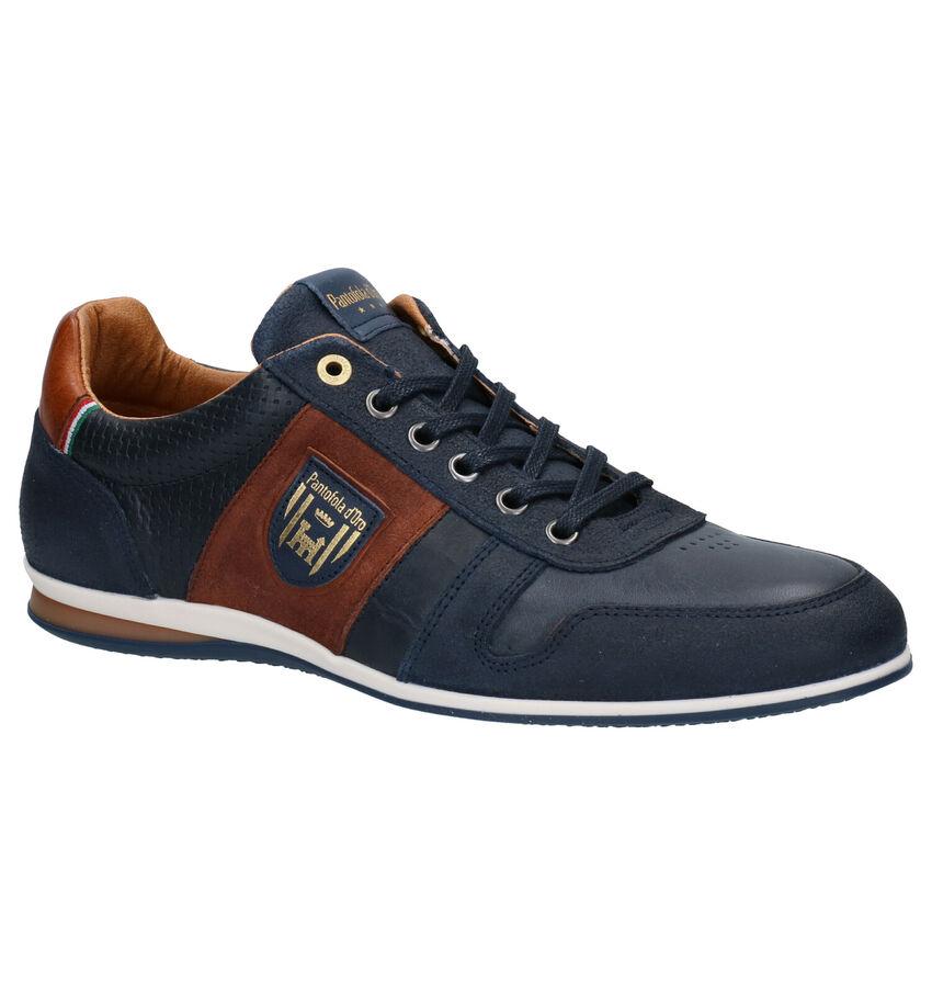Pantofola d'Oro Asiago Low Blauwe Veterschoenen