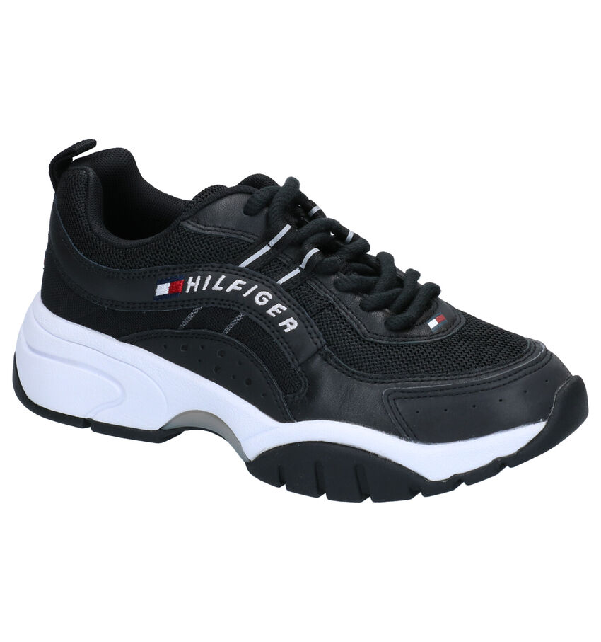 Zwarte Sneakers Tommy Hilifger Heritage