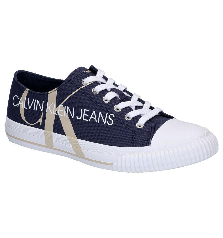 Calvin Klein Ivano Blauwe Sneakers