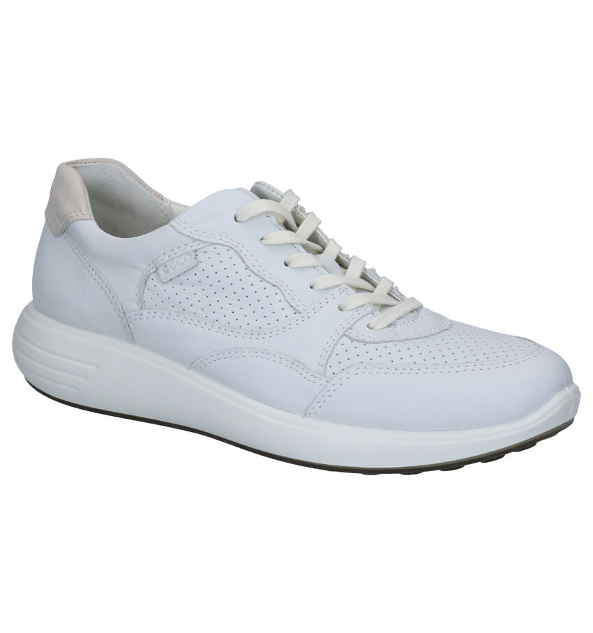 Ecco Soft 7 Witte Sneakers
