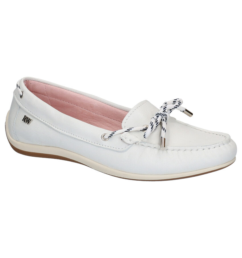 Witte Loafers River Woods Angie