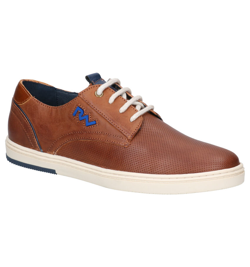 River Woods Boris Cognac Veterschoenen