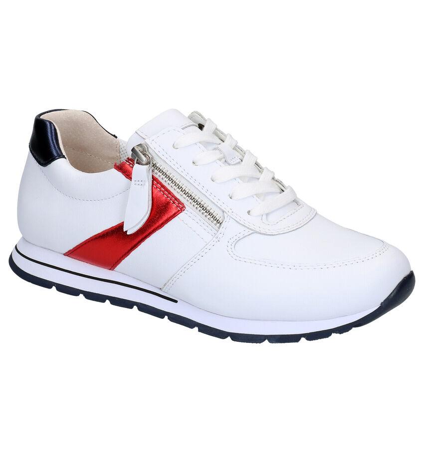 Gabor OptiFit Witte Lage Schoenen