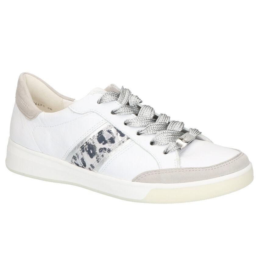 Ara Highsoft Witte Veterschoenen