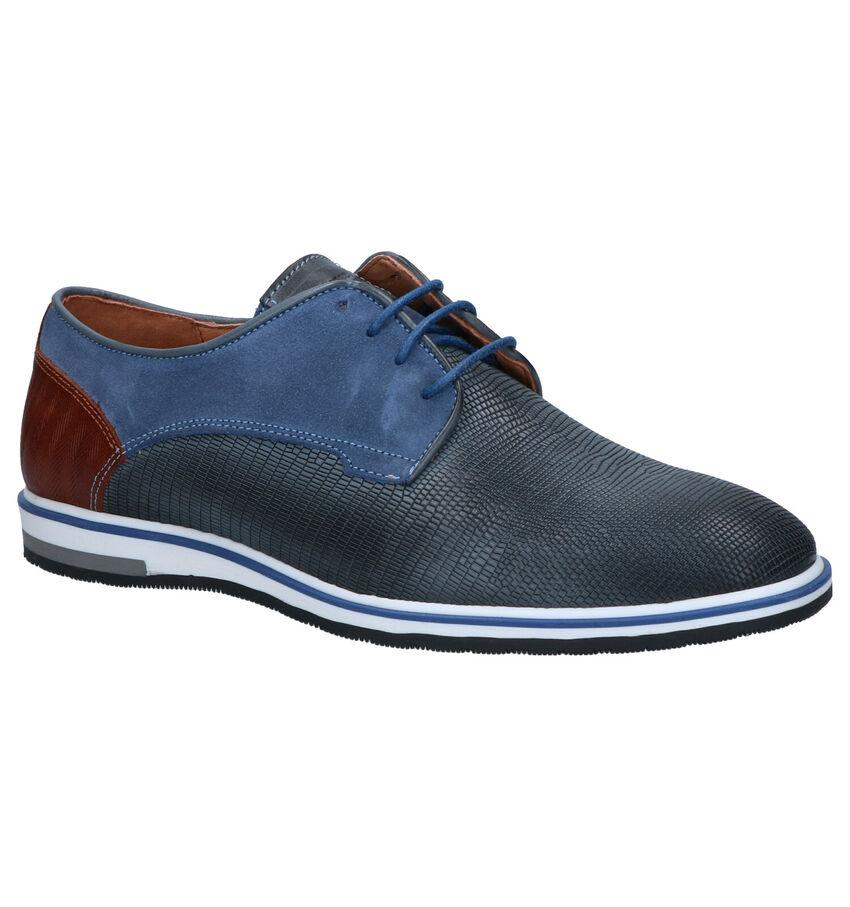 Cycleur de Luxe Plus Blauwe Geklede Schoenen