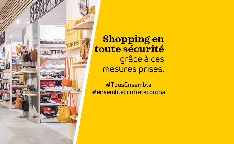 shopping sécurité