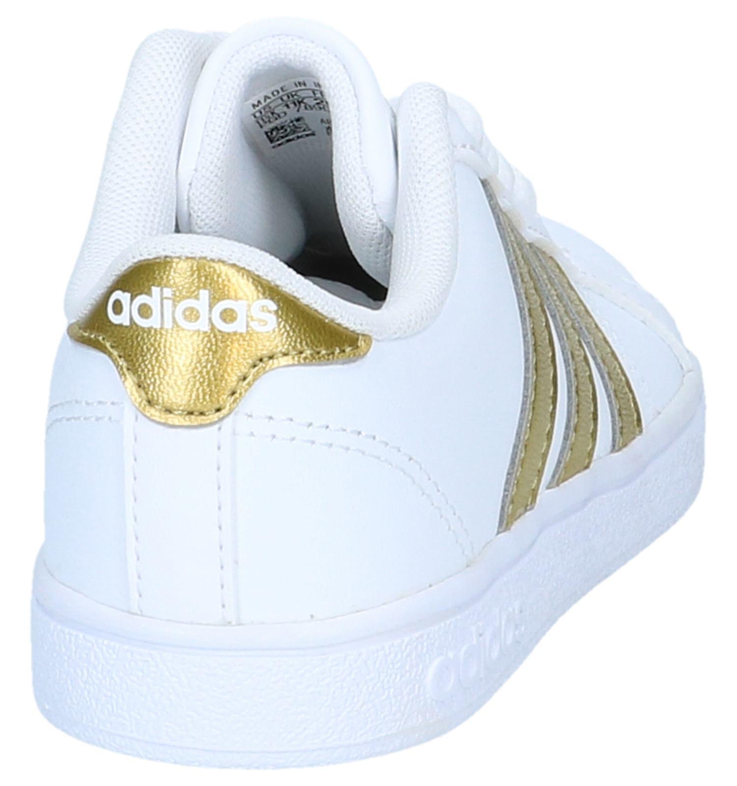 Adidas be En Lage Verzend Baseline KTorfs Witte Gratis Sneakers vNOnym80wP