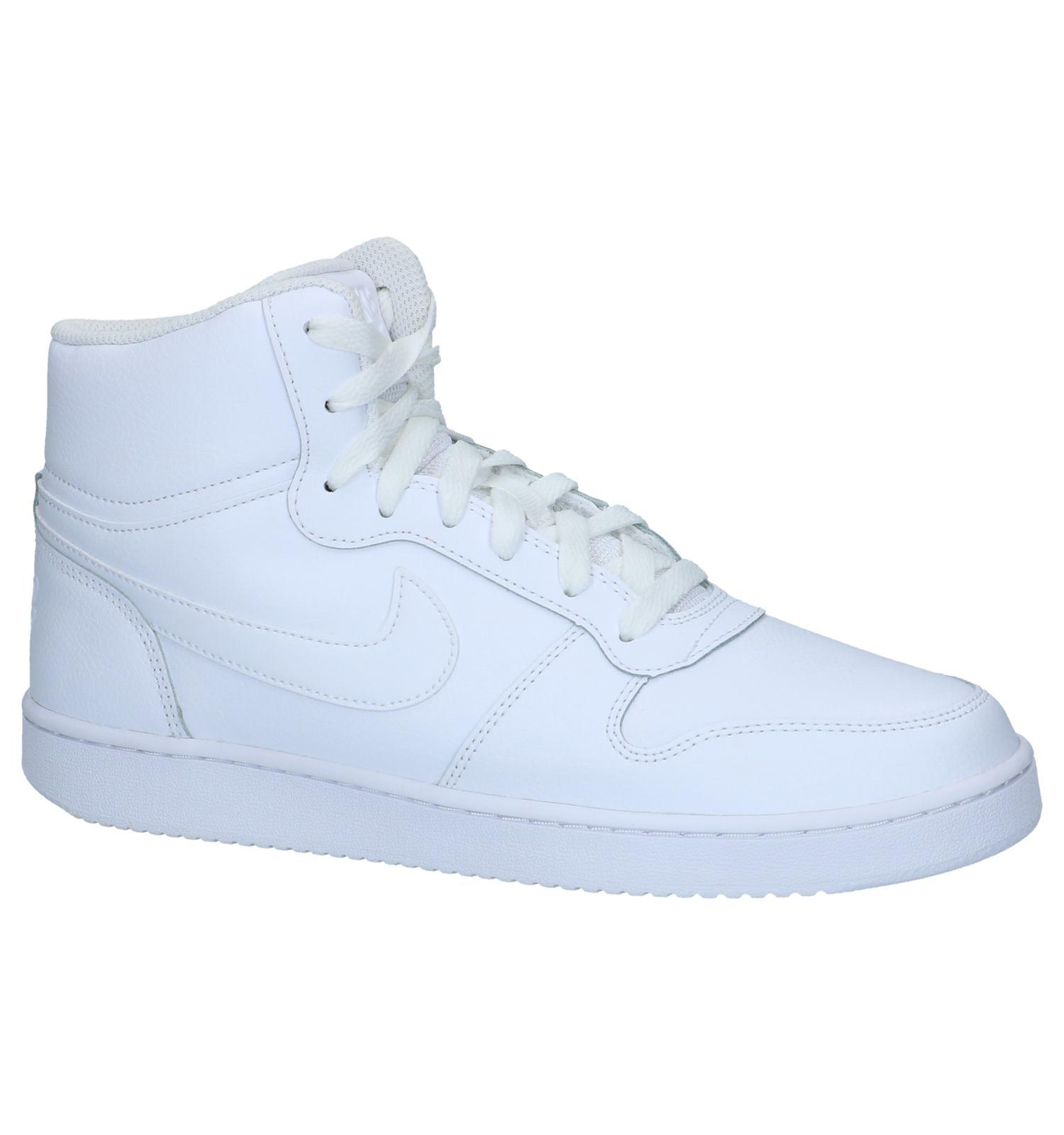 Welp Witte Nike Ebernon Sneakers Hoog | TORFS.BE | Gratis verzend en retour KB-56