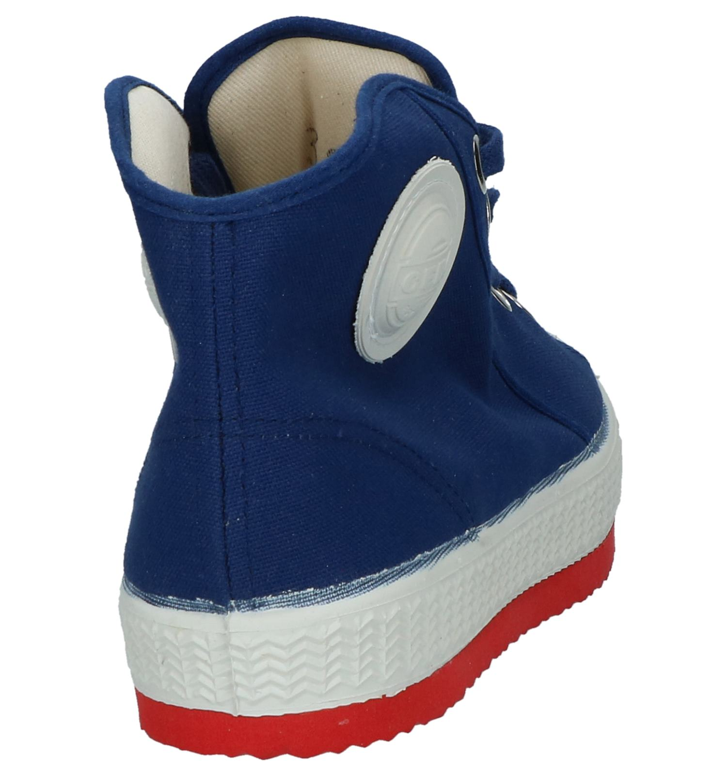 c9d5390beae Blauwe Hoge Sportieve Sneakers 0051   TORFS.BE   Gratis verzend en retour