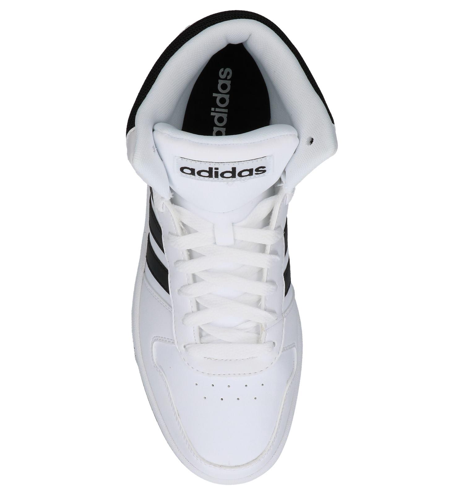 Witte Sneakers Gratis En Retour Verzend 0 be 2 Hoops Hoge Torfs Adidas tR7a11