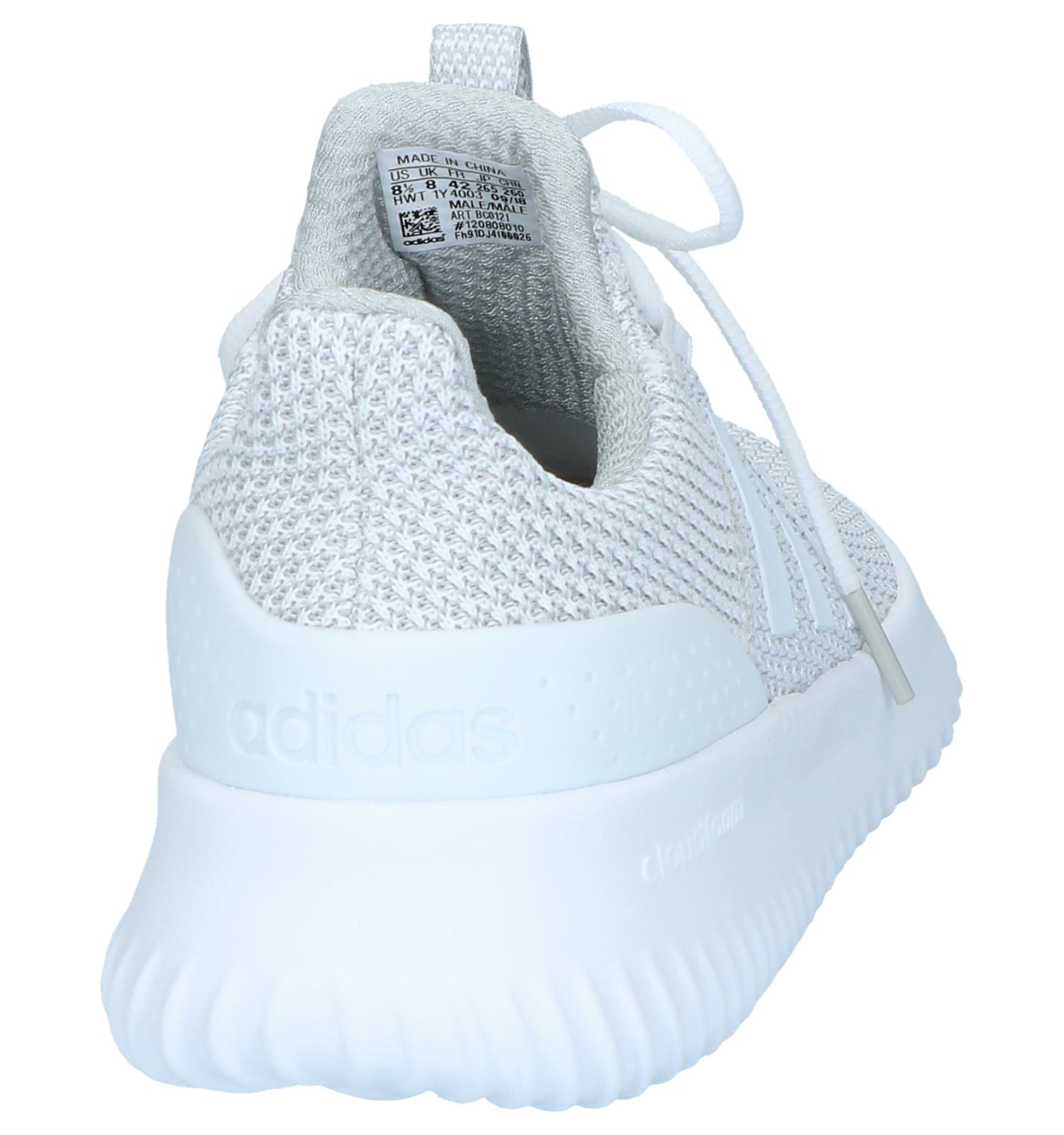 Witte Slip on Sneakers adidas Cloudfoam Ultimate