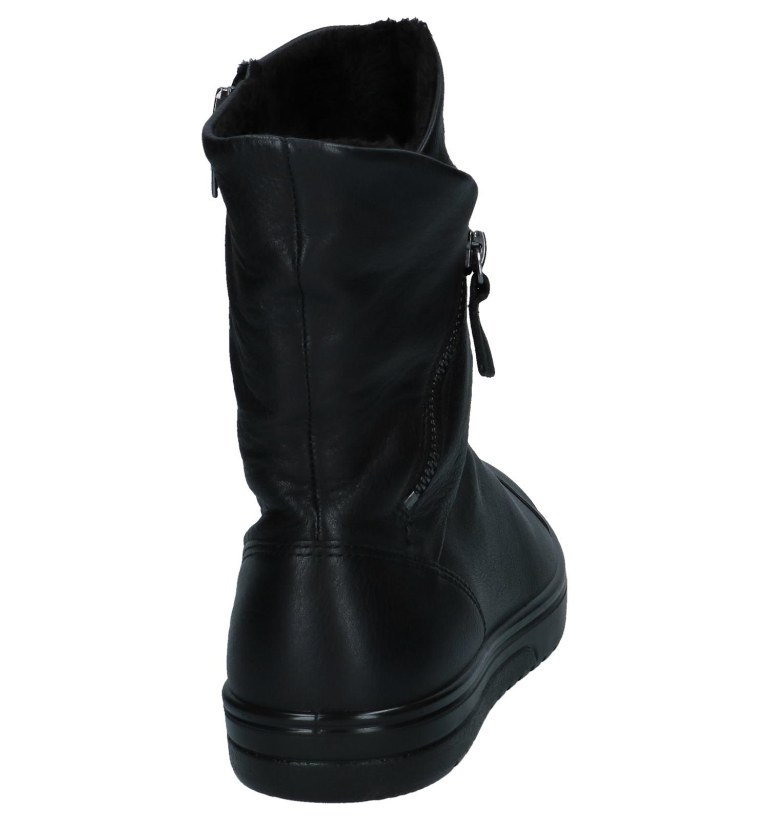 d1ef7c6b318 Zwarte Korte Laarzen ECCO Fara | TORFS.BE | Gratis verzend en retour