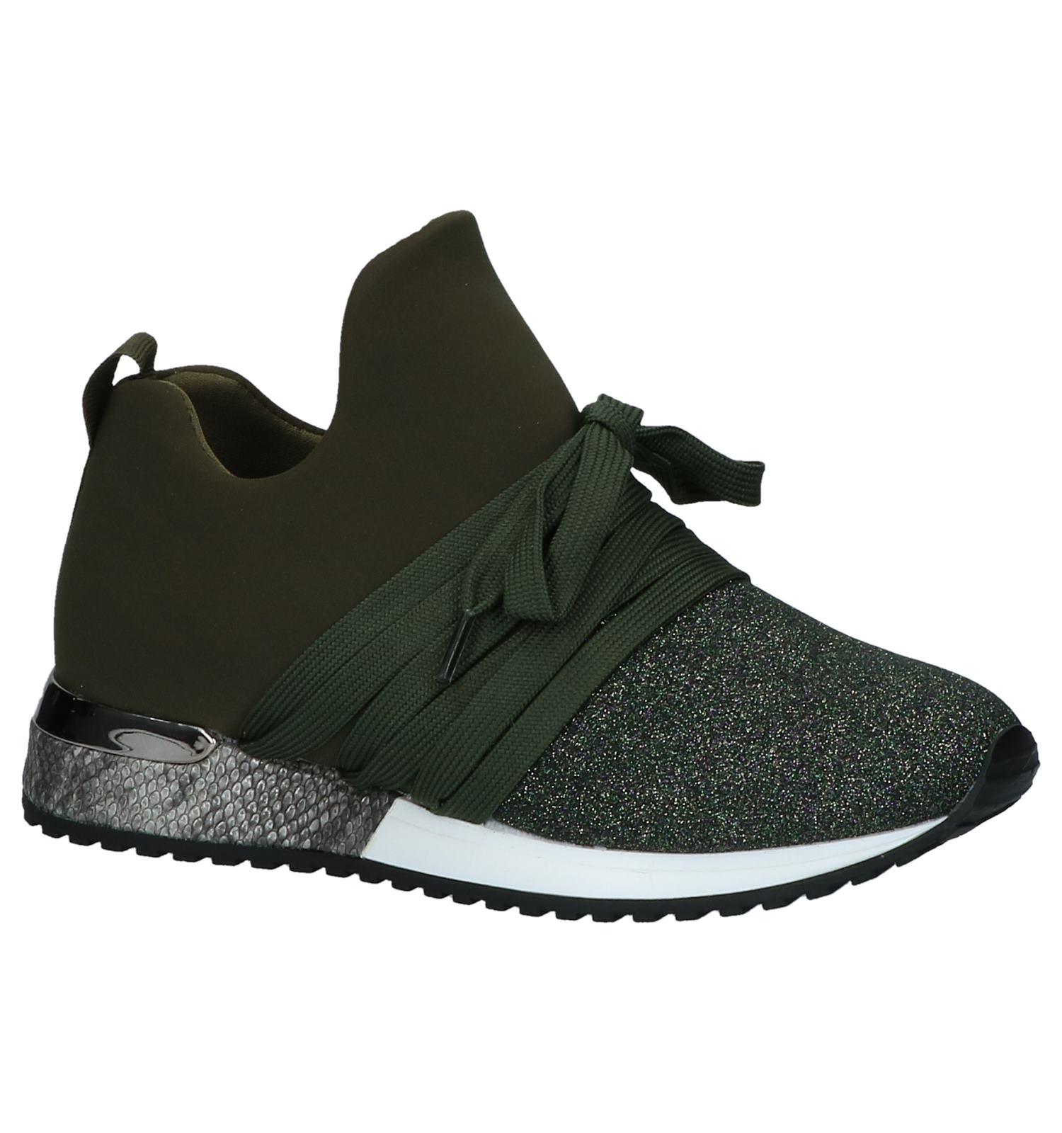 d6ee7beae72 La Strada Kaki Slip-on Sneakers | TORFS.BE | Gratis verzend en retour