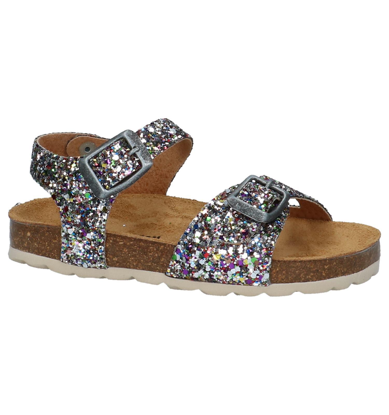 info voor ziet er goed uit schoenen te koop de beste Multicolor Glitter Sandalen Plakton   TORFS.BE   Gratis verzend en retour