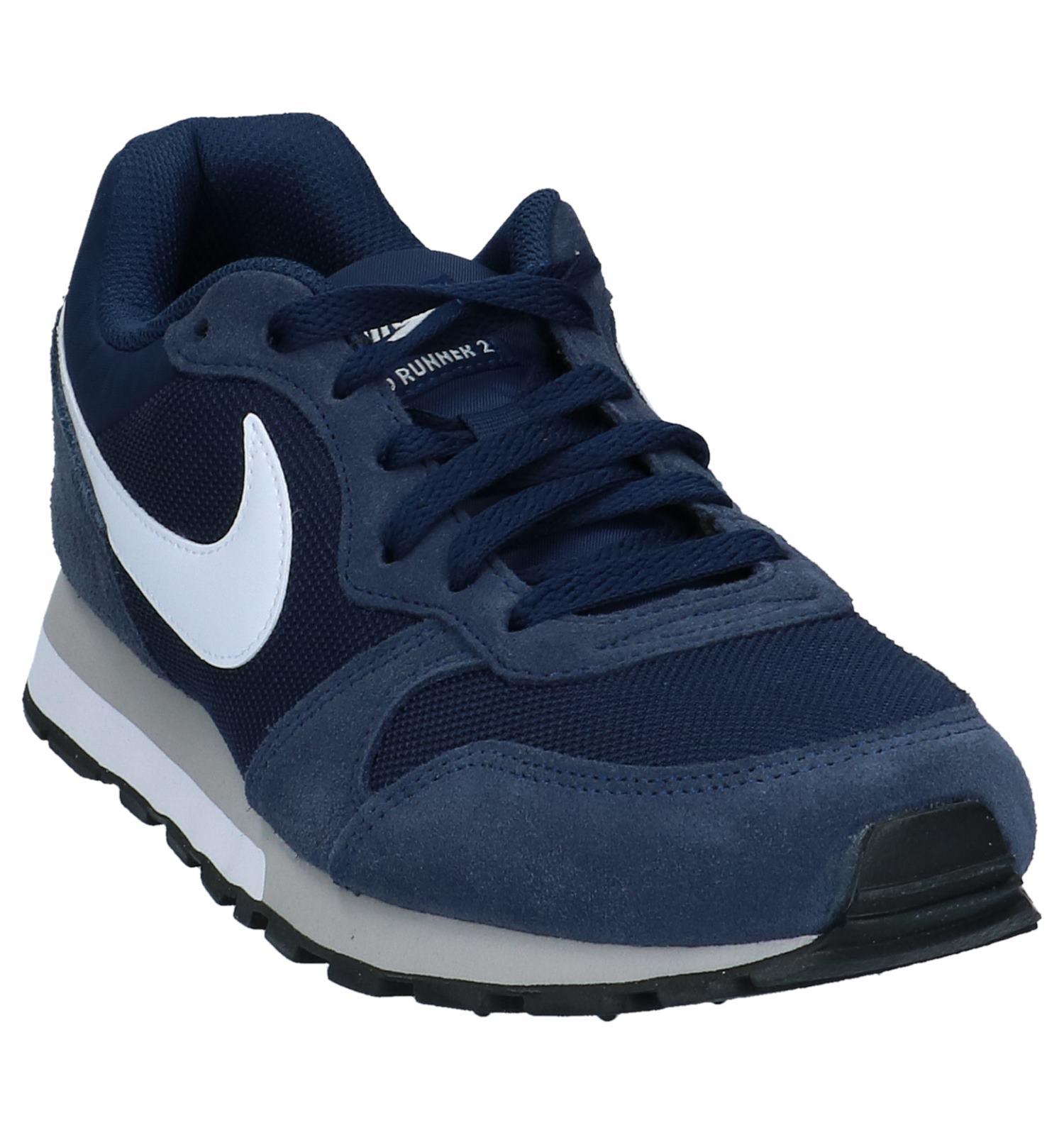 9f985d5fa7b Lage Sportieve Sneakers Donkerblauw Nike MD Runner 2   TORFS.BE   Gratis  verzend en retour