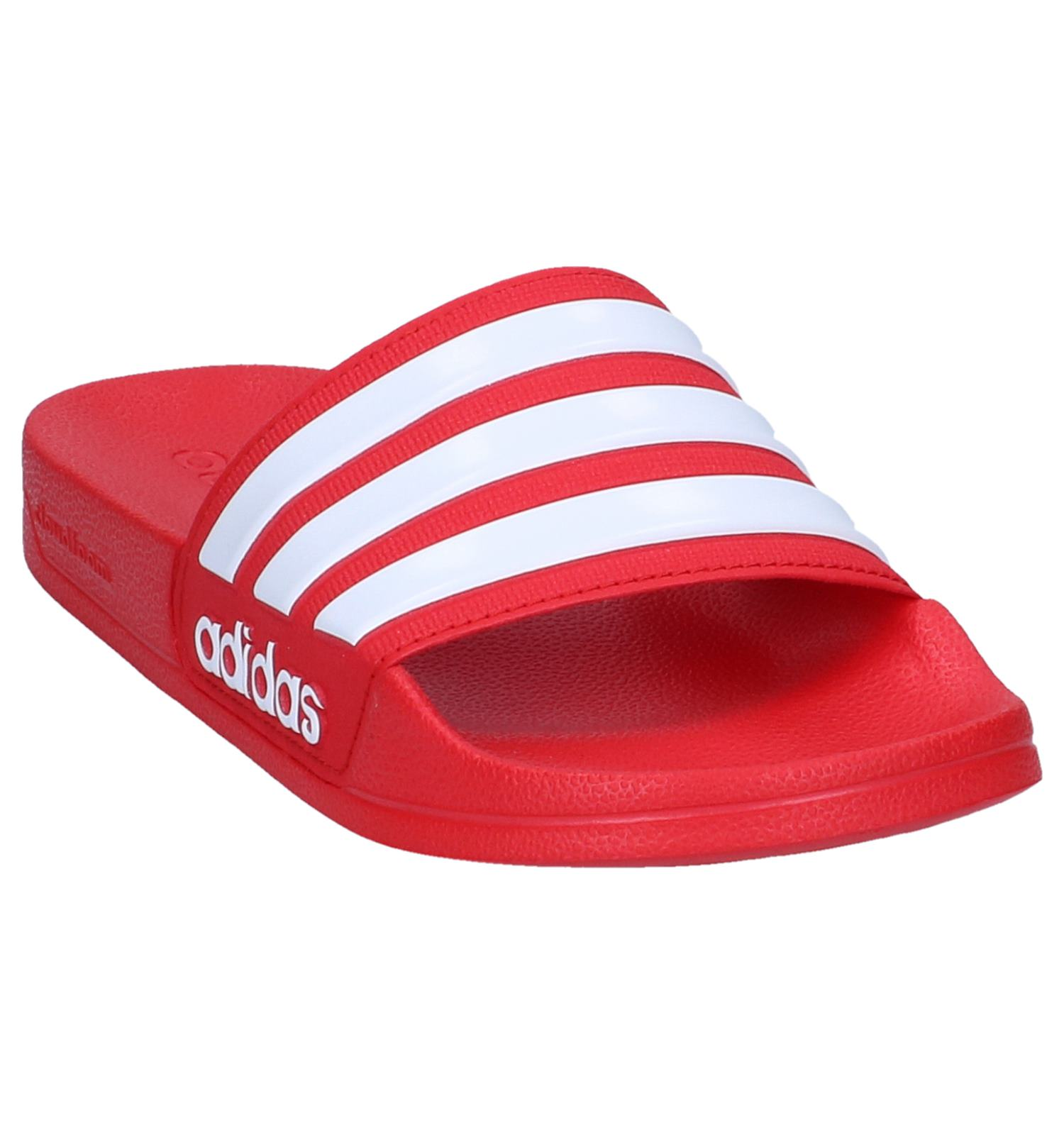62b86502e03 Rode Slippers adidas Adilette Cloudfoam | TORFS.BE | Gratis verzend en  retour