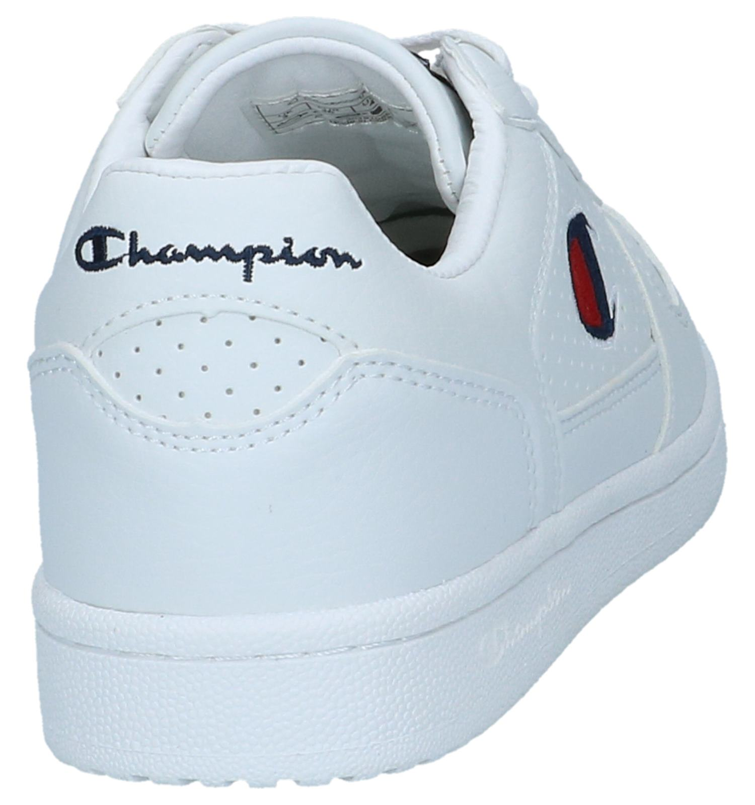 ade228dc8ecc0 Witte Sneakers Champion Chicago Basket Low