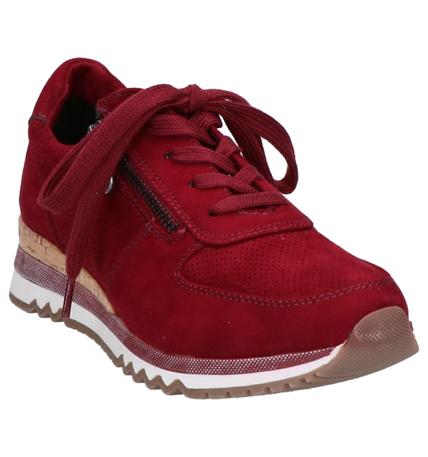 Marco Tozzi Bordeaux Sneakers | TORFS.BE | Gratis verzend en