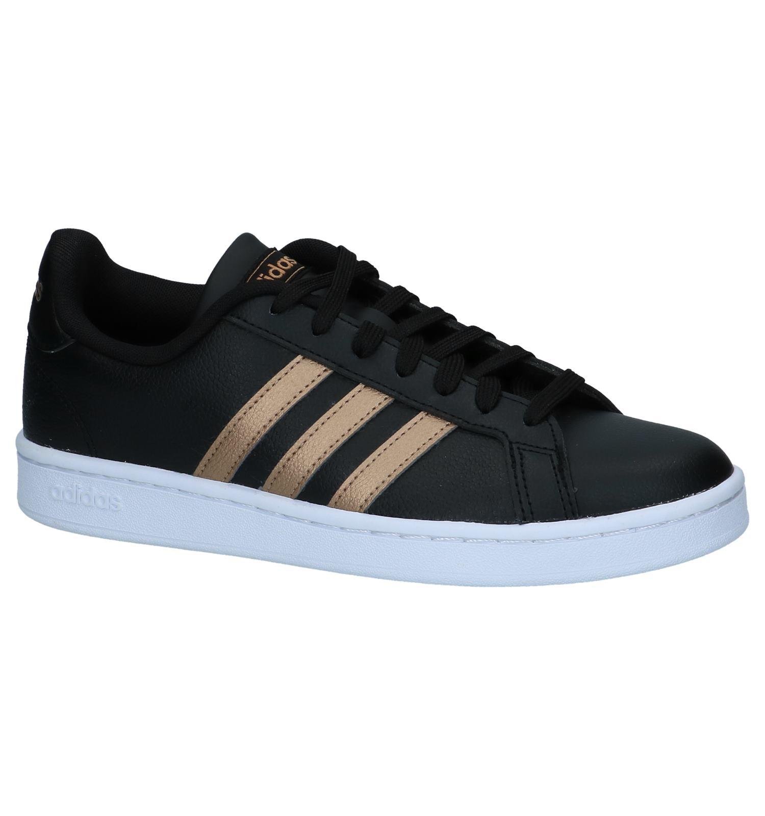 83ce7a24608 Zwarte Sneakers adidas Grand Court | TORFS.BE | Gratis verzend en retour