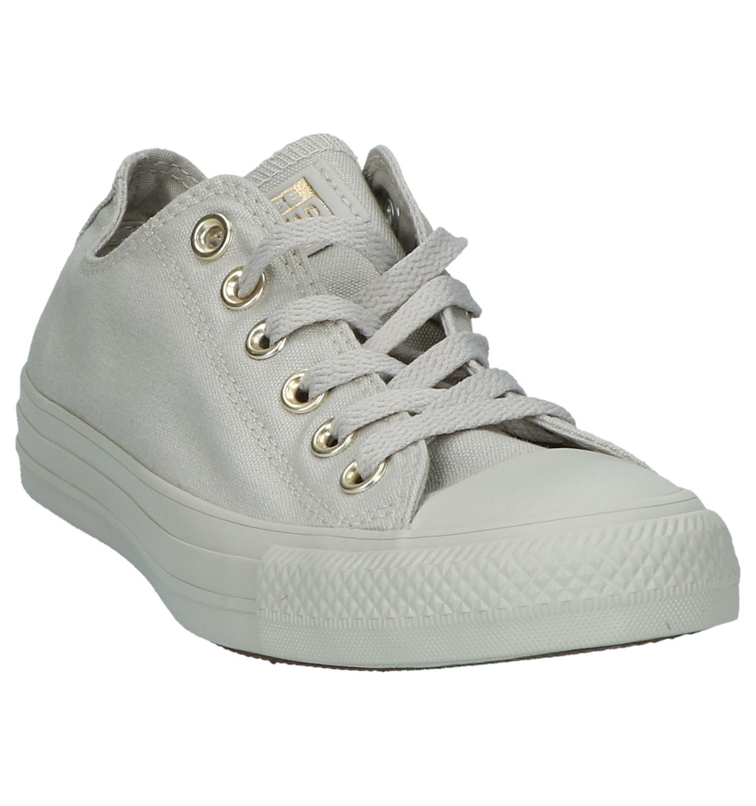 e0545c1c745 Lichtgrijze Converse Chuck Taylor All Star OX Sneakers | TORFS.BE | Gratis  verzend en retour