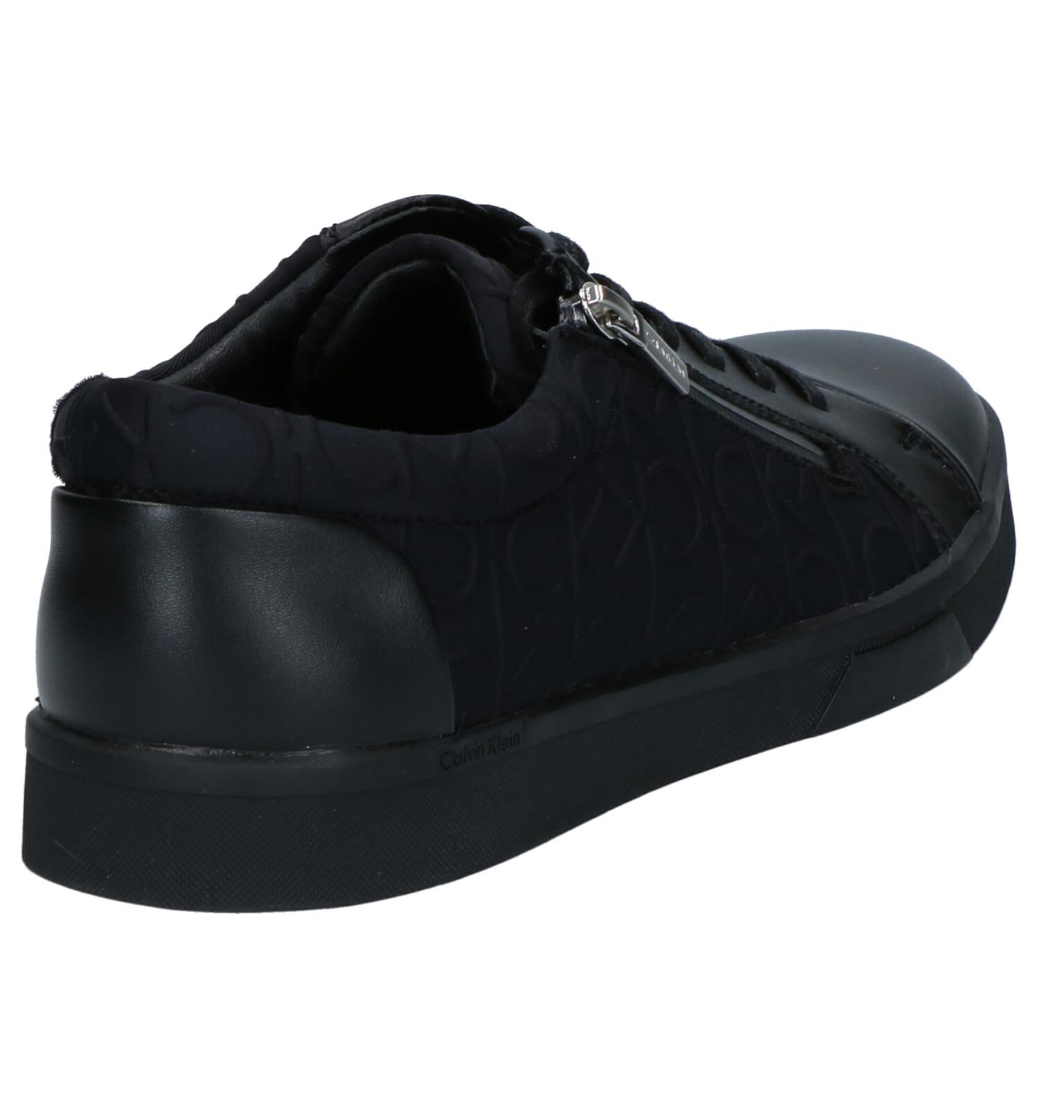 Klein Ibrahim Lacets En Chaussures Calvin À Noir AjLq35R4