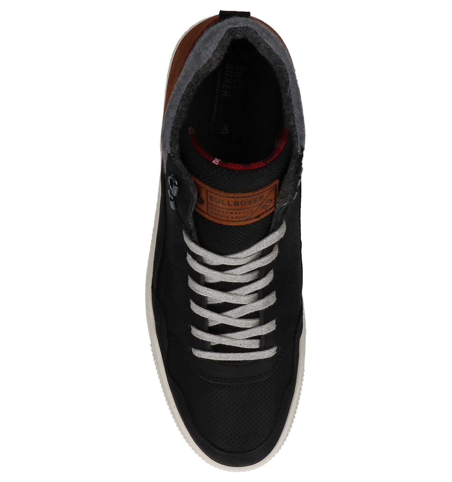 cded27f298f Zwarte Bullboxer Hoge Sneakers | TORFS.BE | Gratis verzend en retour