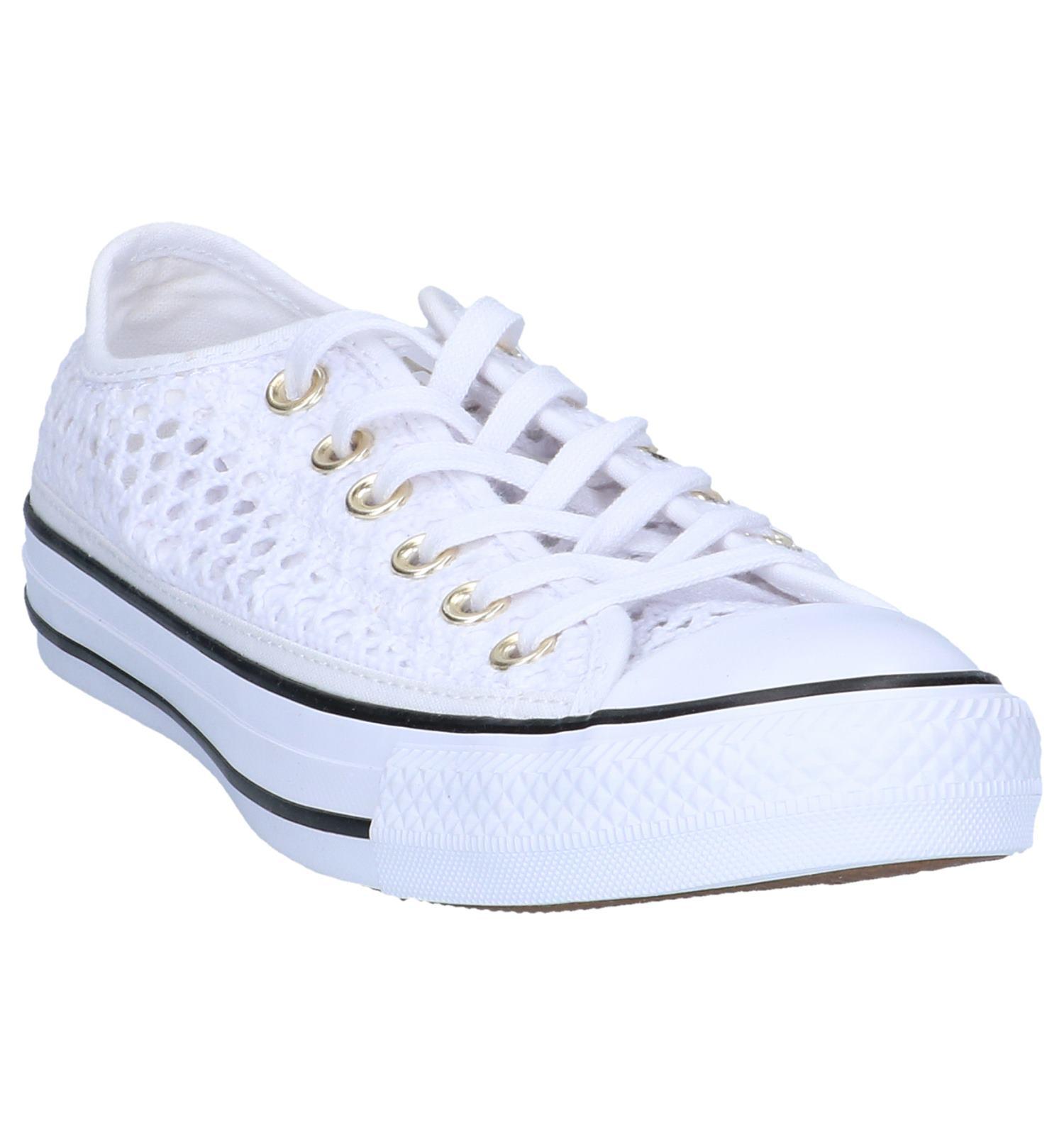 d22ac0e7411 Witte Sneakers Converse All Star OX   TORFS.BE   Gratis verzend en retour