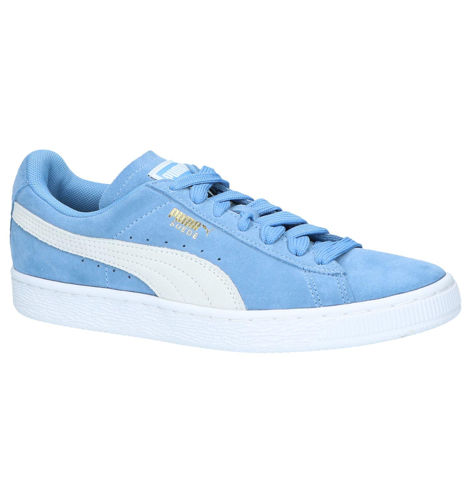 5712e1a11d0 Lage Sneakers Licht Blauw Puma Suede Classic | TORFS.BE | Gratis verzend en  retour