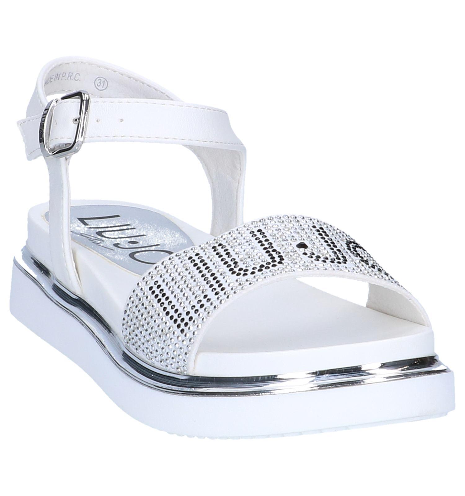 concurrerende prijs goede kwaliteit beschikbaar Witte Sandalen Liu Jo   TORFS.BE   Gratis verzend en retour