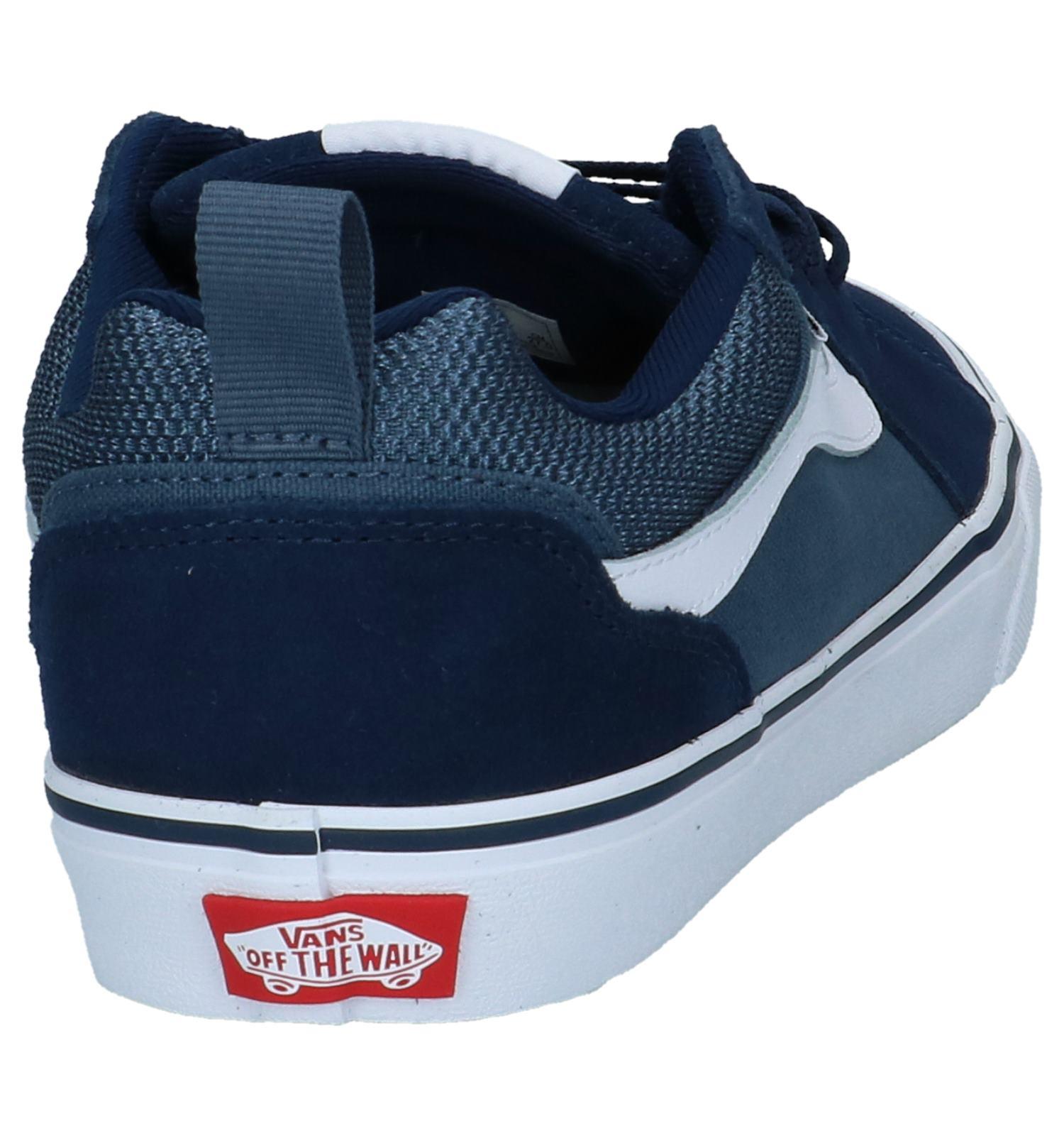 6b7912e222ab5d Vans Filmore Donker Blauwe Skateschoenen