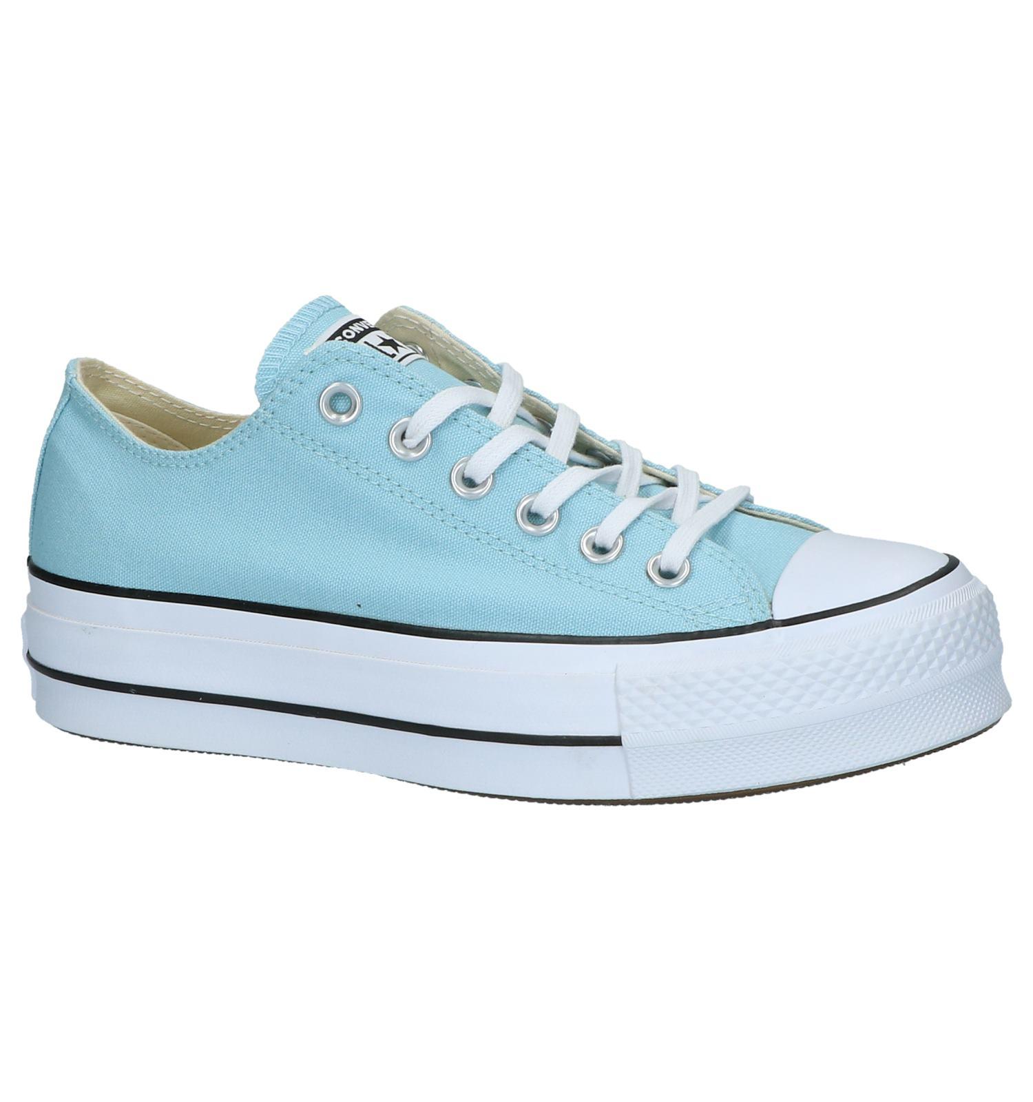 ba6f6dfaacd Lichtblauwe Converse Chuck Taylor All Star Lift Sneakers   TORFS.BE    Gratis verzend en retour