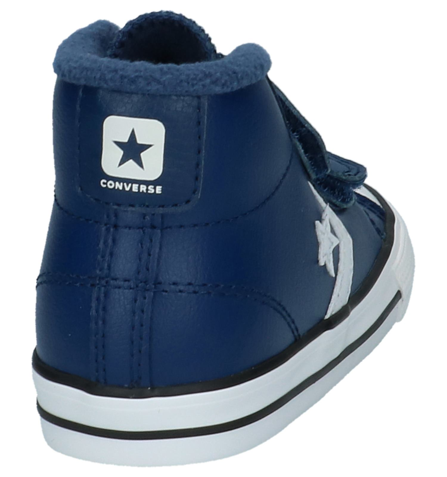 5014441e76d Blauwe Sneakers Converse Star Player 2V Mid | TORFS.BE | Gratis verzend en  retour