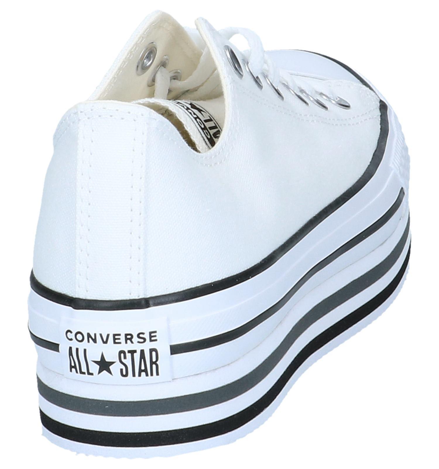 2132fbb0e9e Witte Sneakers Converse All Star Chuck Taylor Platform Layer | TORFS.BE |  Gratis verzend en retour