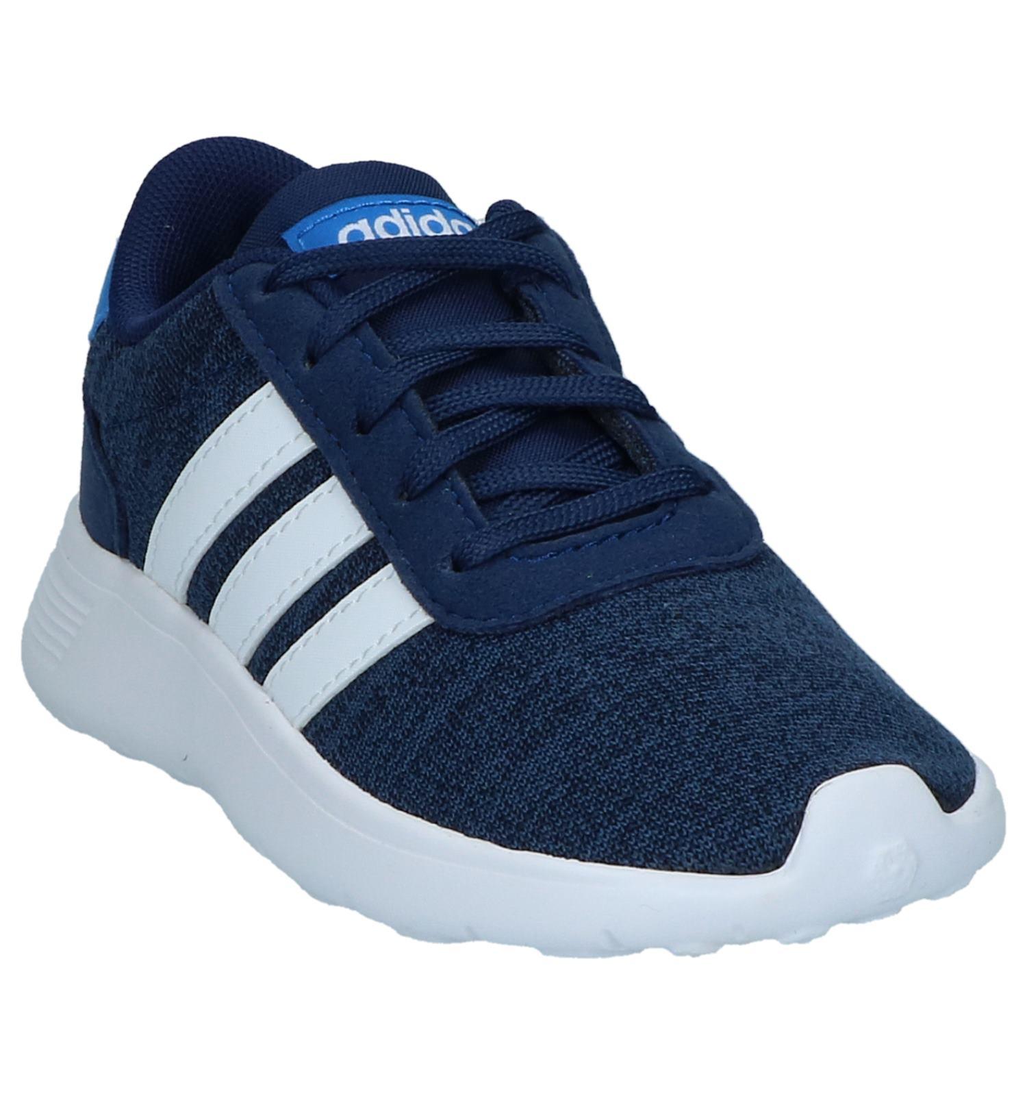 adidas Lite Racer K Blauwe Sneakers | TORFS.BE | Gratis verzend en retour